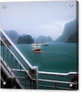 Bhaya Cruise Line Ha Long Bay  Acrylic Print