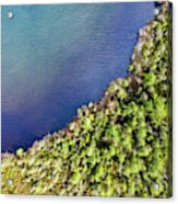 Big Bay Bear Lake Aerial Acrylic Print