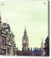 Big Ben As Seen From Trafalgar Square Acrylic Print
