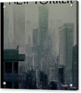 Big City Acrylic Print