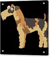Big Fox Terrier Acrylic Print