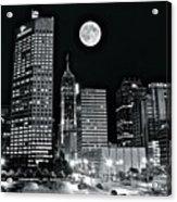 Big Moon Indianapolis 2019 Acrylic Print