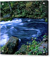 Big Spring, Ozarks National Scenic Acrylic Print