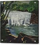 Big Waterfall Acrylic Print