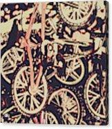 Bike Mountain Acrylic Print