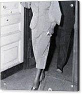 Billie Holiday Leaving Police Station Acrylic Print
