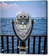 Binocular Viewer Acrylic Print