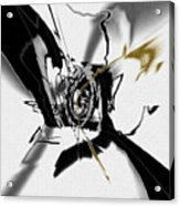 Black And White Abstract Acrylic Print