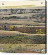 Black Butte September Reverie Acrylic Print
