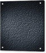 Black Concrete Acrylic Print