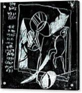 Black Ivory Issue 1b17a Acrylic Print