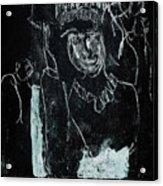 Black Ivory Issue 1b9a Acrylic Print