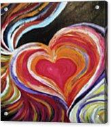 Black Love Is . . . Acrylic Print