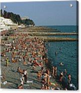 Black Sea Coast Acrylic Print
