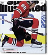 Blackhawks Patrick Kane The Nehls Best Player Has Arrived - Sports Illustrated Cover Acrylic Print