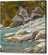 Blindman River, Blackfalds Acrylic Print