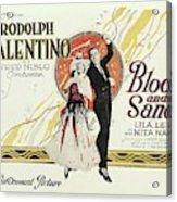 Blood And Sand, 1922 Acrylic Print