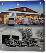 Bloomfield Fire Department Acrylic Print