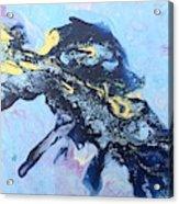 Blue Abstract #3 Acrylic Print