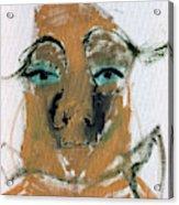 Blue Eyed Man Acrylic Print