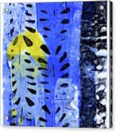 Blue Garden 1 Acrylic Print