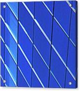 Blue Glass Modern Building Acrylic Print