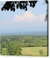 Blue Ridge Mountains And Vineyards Acrylic Print