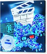 Blue Screen Entertainment Acrylic Print