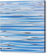 Blue Water Abstract 8621 Acrylic Print