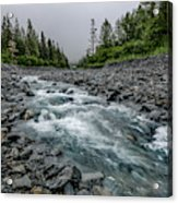 Blue Water Creek Acrylic Print