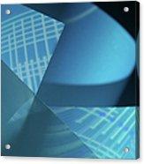 Blueprint Acrylic Print