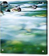 Blurred River Acrylic Print