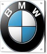 Bmw Emblem Acrylic Print