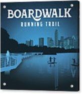 Boardwalk Running Trail Acrylic Print