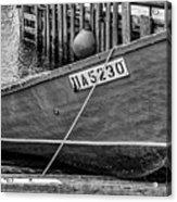 Boat At Fisherman's Cove Acrylic Print