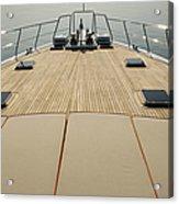 Boat Deck Acrylic Print