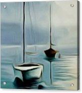 Boat Sails Acrylic Print