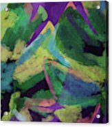 Bold Tropical Dreams- Art By Linda Woods Acrylic Print