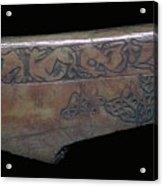 Bone Viking Trewiddle-style Trial-piece Acrylic Print