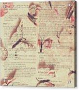 Book Bugs Acrylic Print