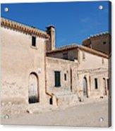 Boquer Valley Building In Majorca Acrylic Print