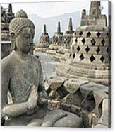 Borobudur Java Indonesia Acrylic Print