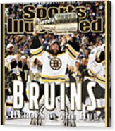 Boston Bruins, 2011 Nhl Stanley Cup Champions Sports Illustrated Cover Acrylic Print