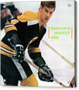 Boston Bruins Bobby Orr, 1970 Nhl Eastern Division Sports Illustrated Cover Acrylic Print