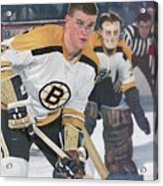 Boston Bruins Bobby Orr... Sports Illustrated Cover Acrylic Print