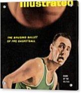 Boston Celtics Bob Cousy Sports Illustrated Cover Acrylic Print