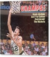 Boston Celtics Kevin Mchale, 1986 Nba Finals Sports Illustrated Cover Acrylic Print
