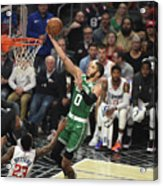 Boston Celtics V La Clippers Acrylic Print