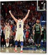 Boston Celtics V Philadelphia 76ers - Acrylic Print