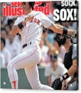 Boston Red Sox Dwight Evans... Sports Illustrated Cover Acrylic Print
